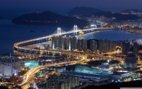 Gwangan bridge busan South Korea wallpaper