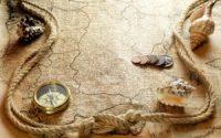Old map Magellans travel HD wallpaper