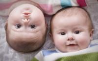 Twin Baby Cute