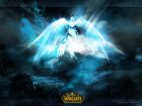 World of Warcraft Angel Light Wallpaper