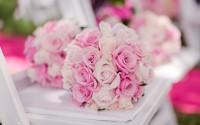 bouquet roses bokeh hd wallpaper