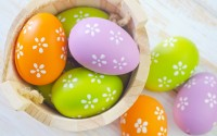 easter eggs mood hd wallpaper
