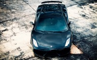 front lamborghini gallardo black hd wallpaper
