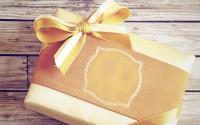 gift ribbon texture hd wallpaper