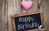 happy birthday heart love mood hd wallpaper