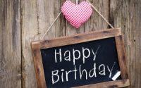 happy birthday heart love mood hd wallpaper