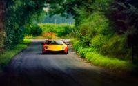 lamborghini murcielago road car hd wallpaper