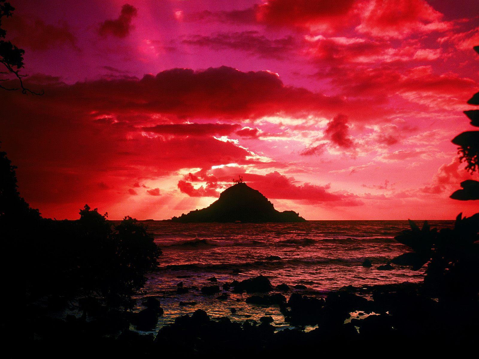 Alau Island Sunrise, Maui, Hawaii