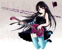 Anime Girl Bass Guitar