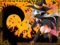 Anime Girl Halloween