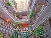 Atrium Hotel Blume Baden Switzerland wallpaper