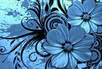 Flower arts wallpaper