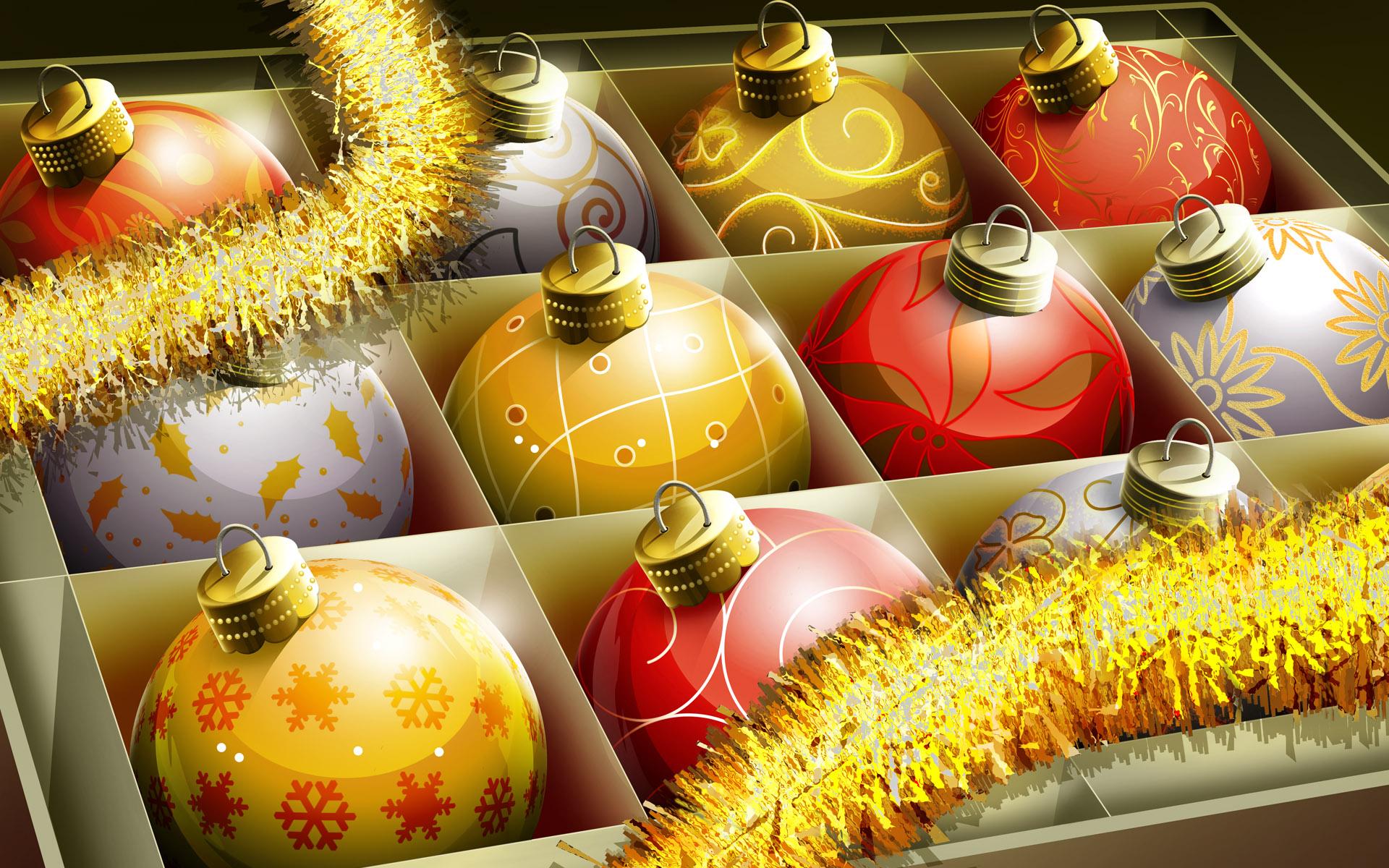 HD Christmas Balls