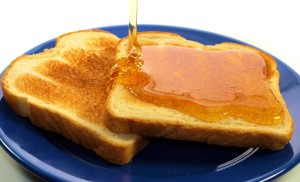 Honey tost