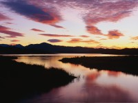 Lake Casitas at Sunrise, Ventura, California