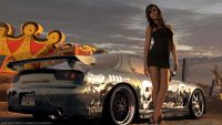 Need for speed prostreet girls wallpaper