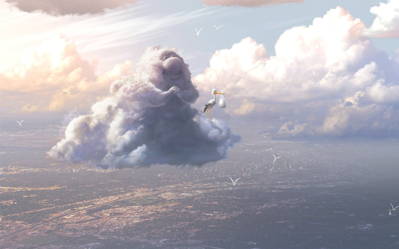 Pixar Cloud 2