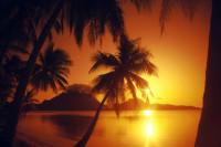 Polynesian Sunset, Bora Bora