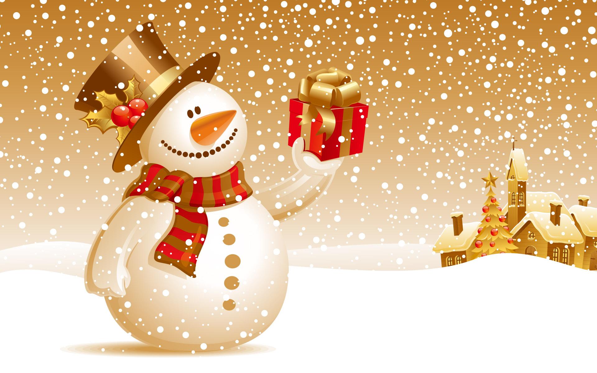 Snowman Christmas Gift