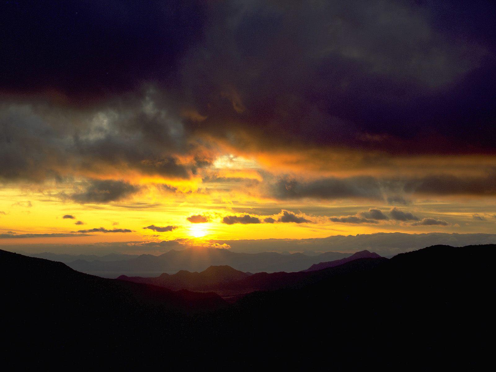 Sunrise From Chiricahua Mountains, Arizona