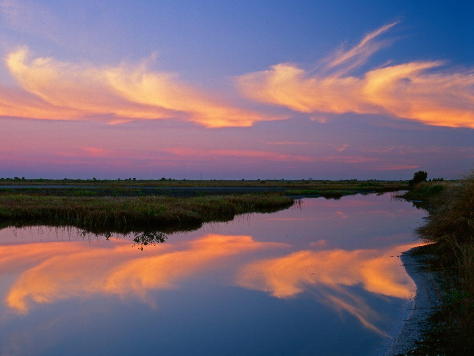 Sunrise, Merritt Island National Wildlife Refuge, Florida