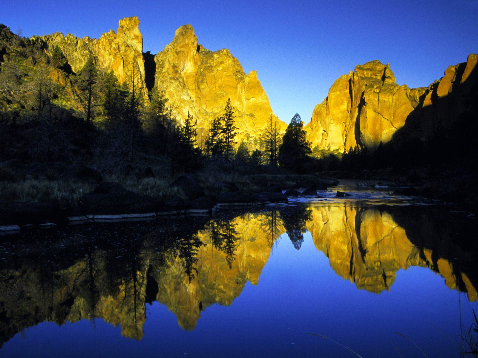 Sunrise, Smith Rocks State Park, Oregon