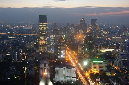 Bangkok Skyline 64 Wallpaper Travel Wallpapers