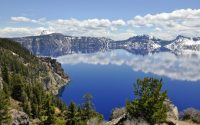 Crater Lake Oregon 4 Wallpaper