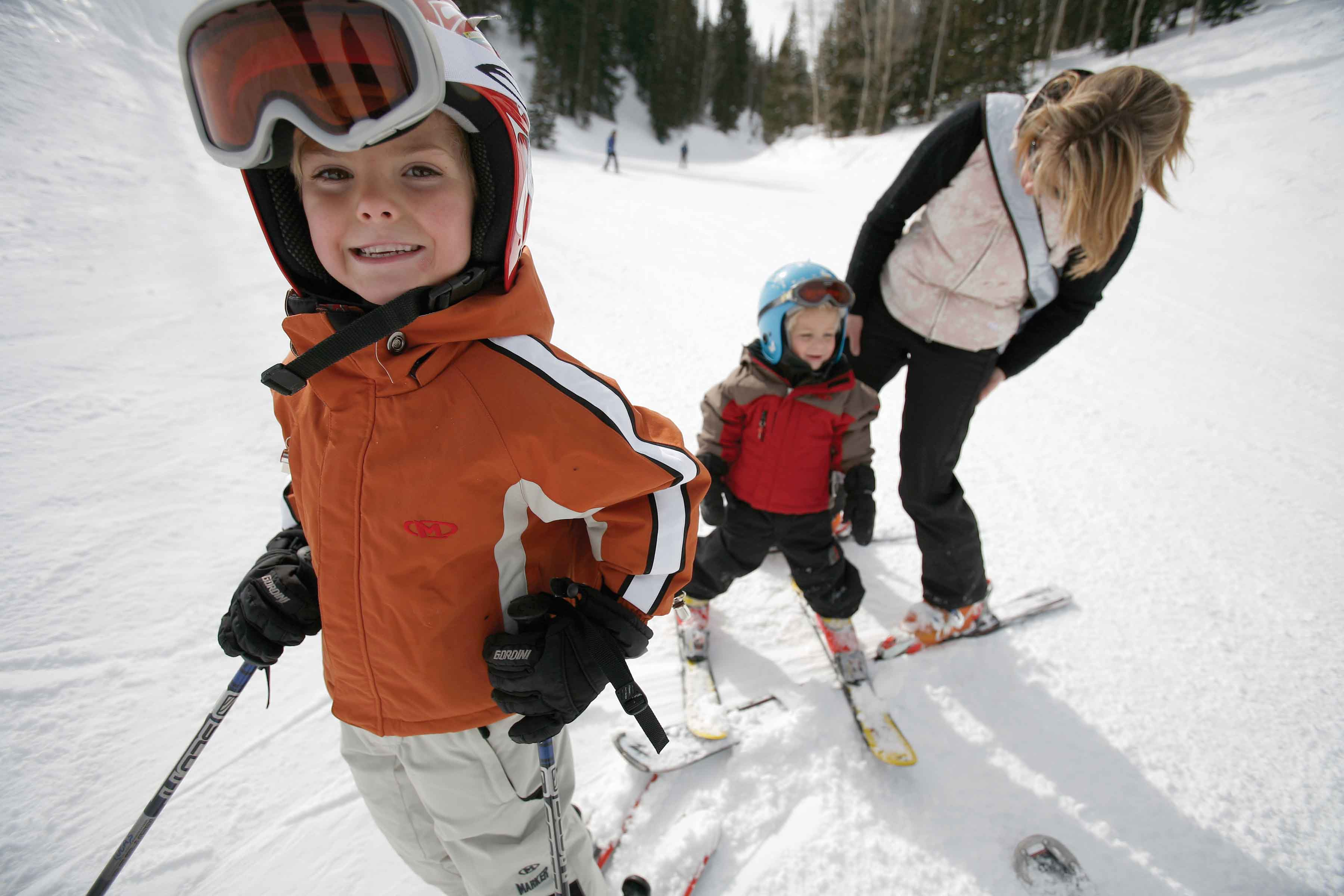 park city skiing season