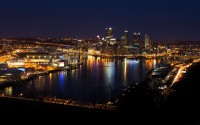 pittsburgh city light wallpaper