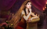 Beautiful Indian girl wallpaper