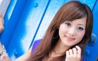 Cute korean girl wallpaper