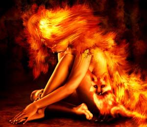 Fantasy Fire Wallpaper