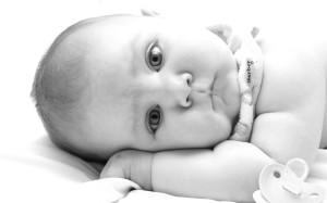Milky cute baby