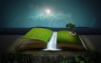 Nature book HD Wallpaper
