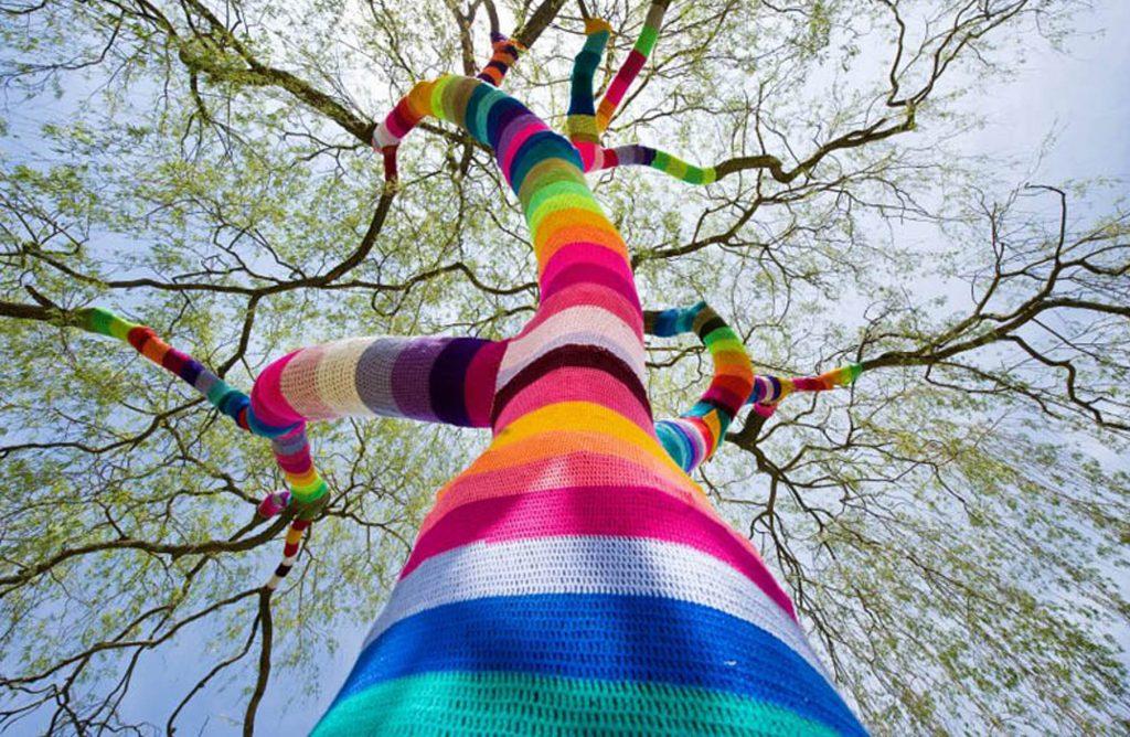 Street Art Yarn Crochet Wallpaper Top Wallpapers