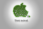 Think Android wallpaper
