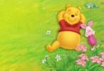 Winnie the pooh cartoon wallpaper