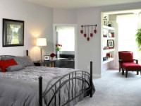 bedroom interior design wallpaper