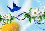 Butterfly Flower Wallpaper