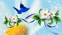 Butterfly Flower Wallpaper