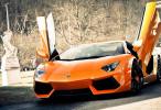 Super Lamborghini Aventador Car Full HD Wallpaper