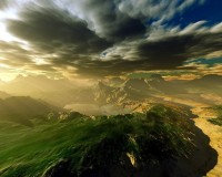 nature cloud HD wallpaper