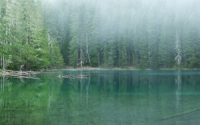 nature lake HD wallpaper