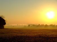 nature sunset HD wallpaper